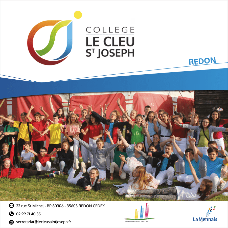 Plaquette collège le Cleu